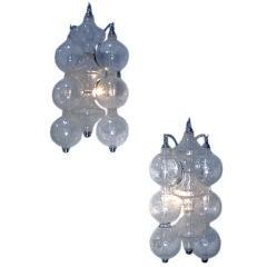 Venetian Glass Sconces