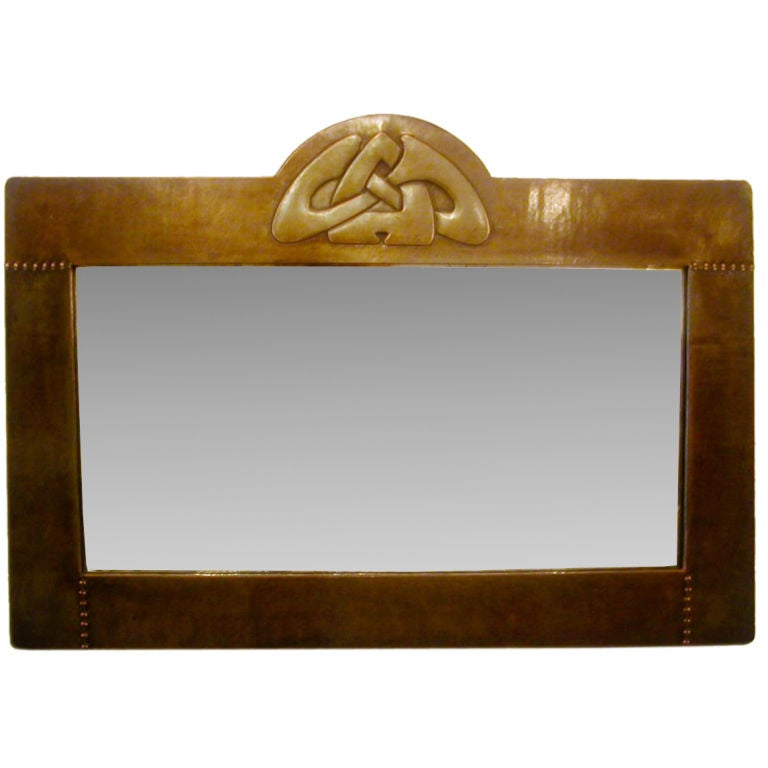 Arts Crafts Photo Frame In Copper