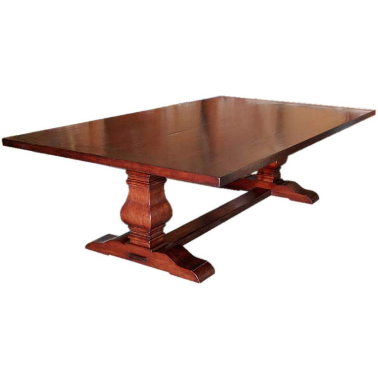 Banquet Dining Table: Custom Dining Table / Banquet Table In Distressed