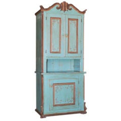 Tall Painted Hutch, circa 1880s