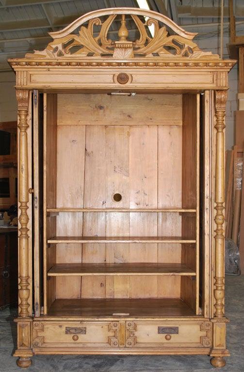 Baltic Armoire In Excellent Condition For Sale In Los Angeles, CA