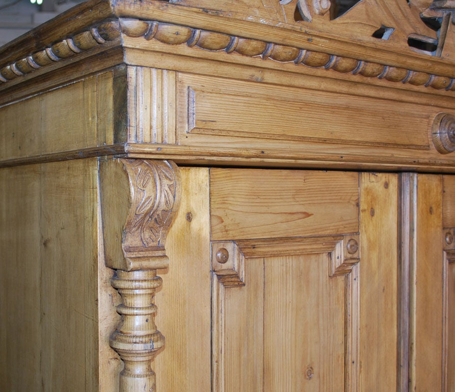 19th Century Baltic Armoire For Sale