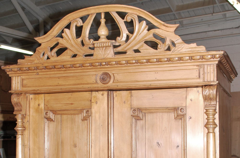 Birch Baltic Armoire For Sale