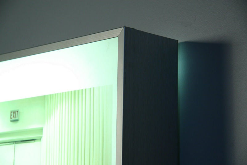 Wall Hanging Light Box : Light box wall mounted art work by Maguerite Beckley at 1stdibs