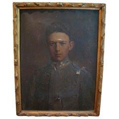A Portrait of  A Soldier