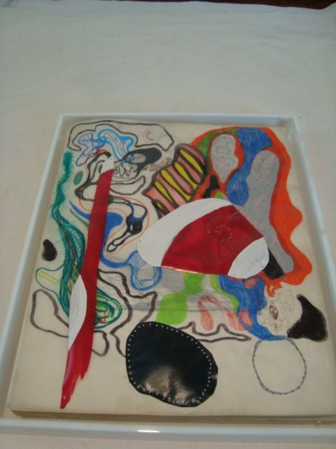 Other Abstract Artwork by Matthew Weinstein of the Sonnabend Gallery For Sale