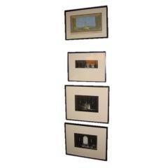 Set of Four Rare Drawings by Robert Edmond Jones