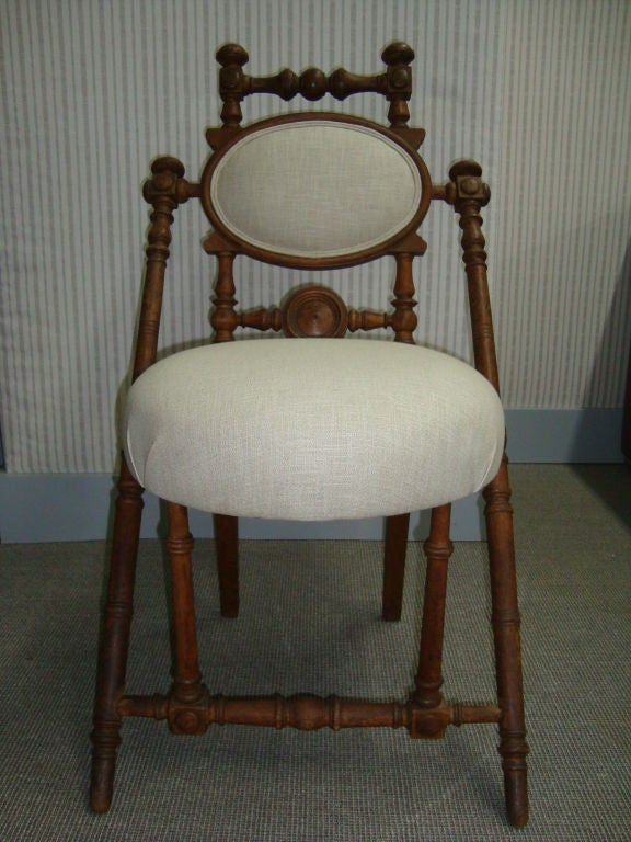 George Hunzinger Side Chair At 1stdibs
