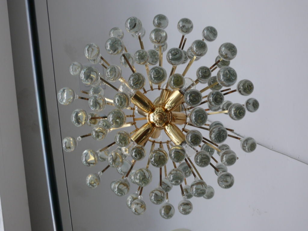 20th Century Sciolari Tear Drop Chandelier For Sale