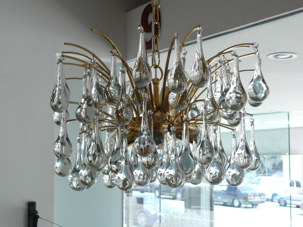 Sciolari Tear Drop Chandelier For Sale 4