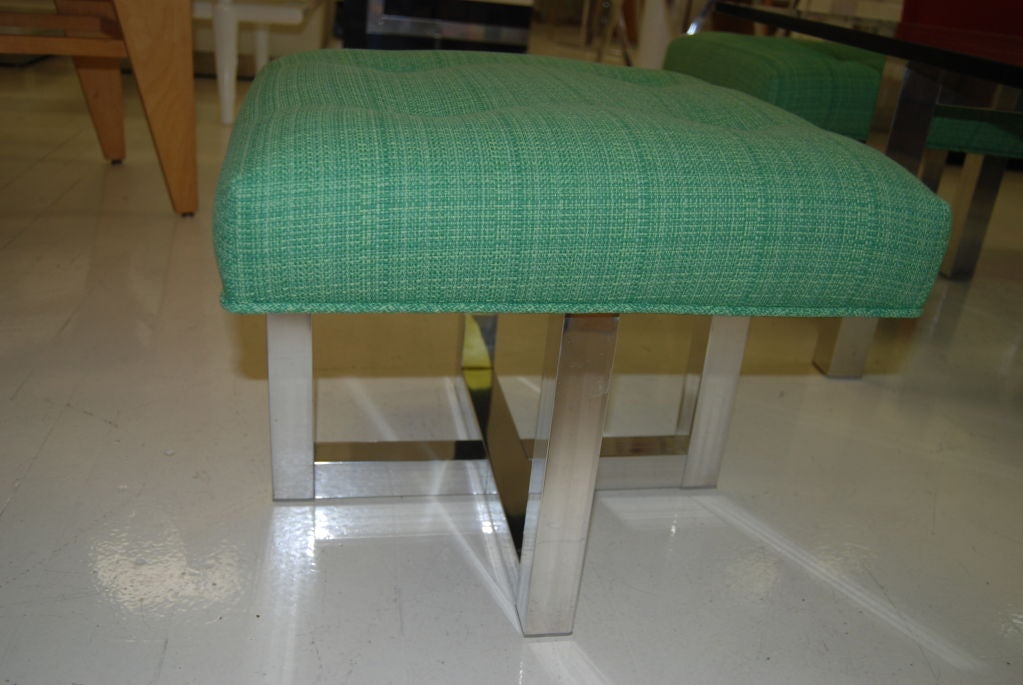 Super design coffee table and stool set at 1stdibs for Table exterieur super u