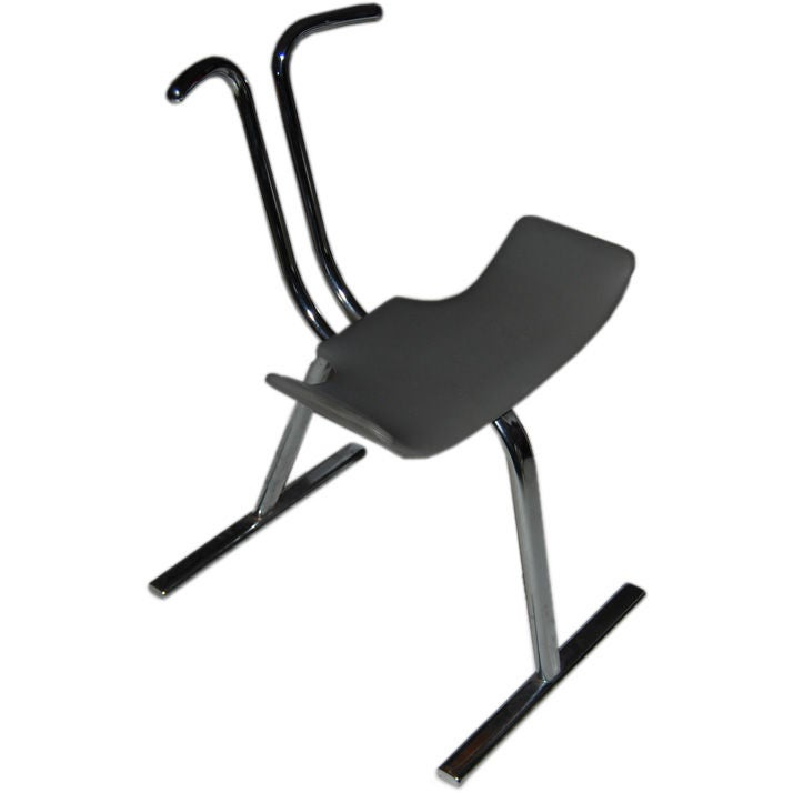 Modernistic Stendig Stool Chair At 1stdibs