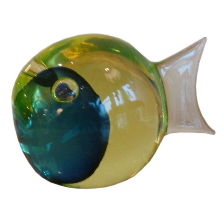 Someroso murano glass fish at 1stdibs for Murano glass fish