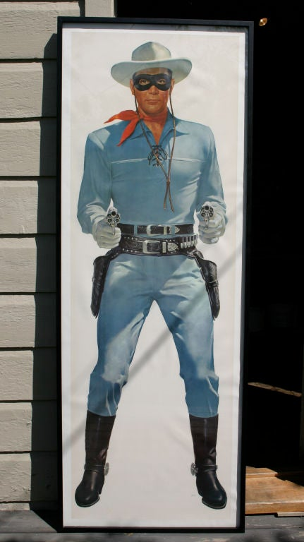 1950s Lifesize Lone Ranger and Tonto TV Posters 2
