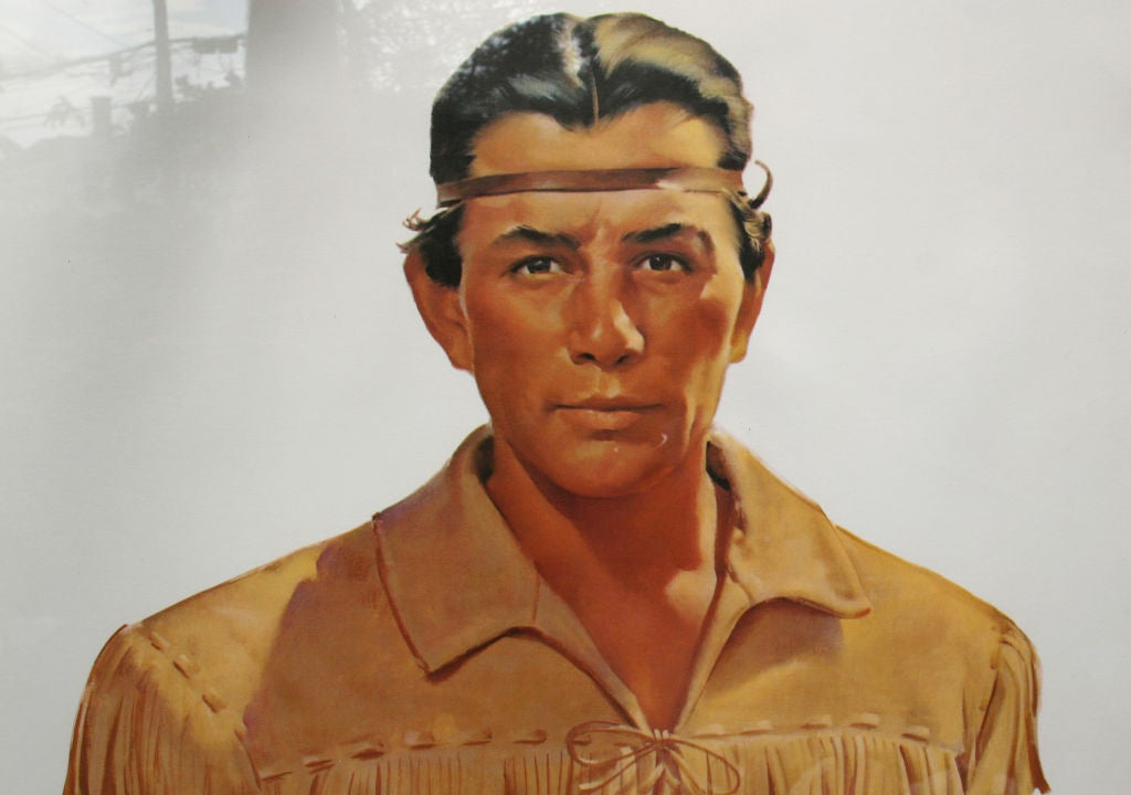1950s Lifesize Lone Ranger and Tonto TV Posters 7