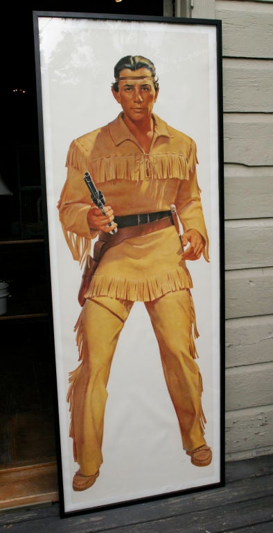 1950's Lifesize LONE RANGER and TONTO TV Posters image 3