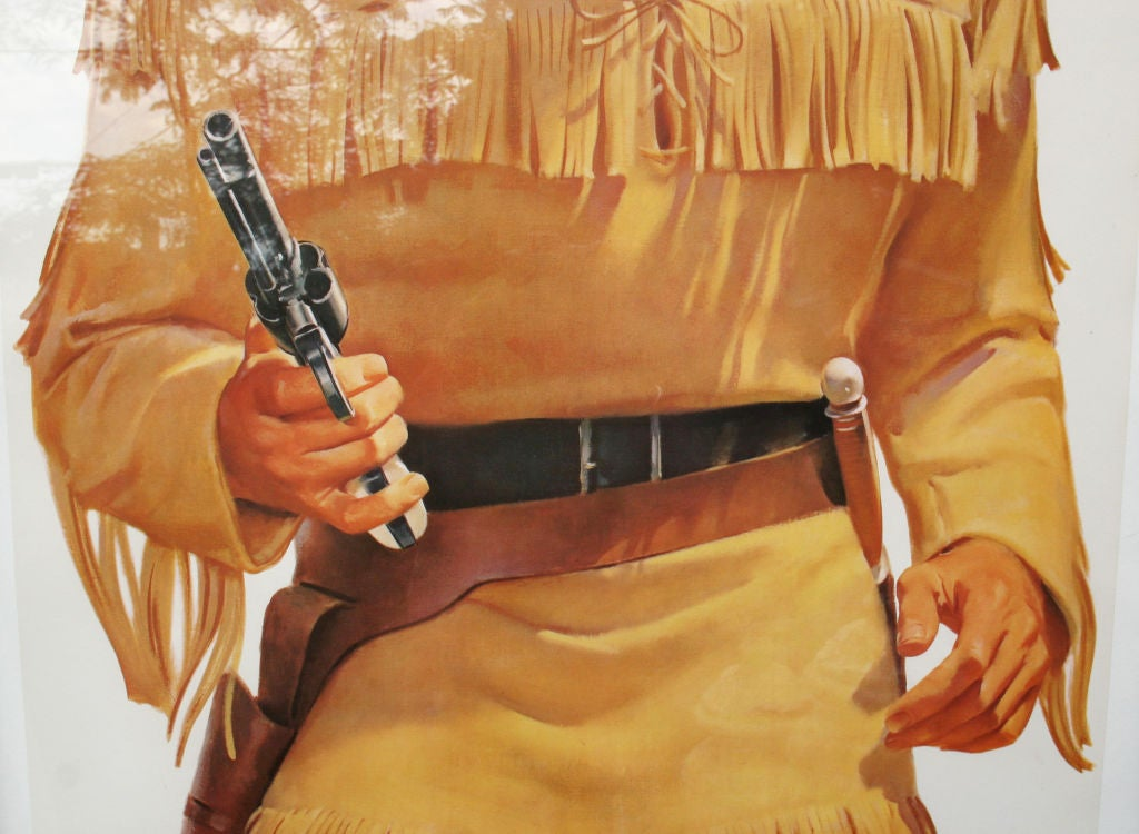 1950's Lifesize LONE RANGER and TONTO TV Posters image 8