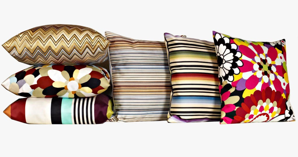 missoni home cushions on sale at 1stdibs. Black Bedroom Furniture Sets. Home Design Ideas