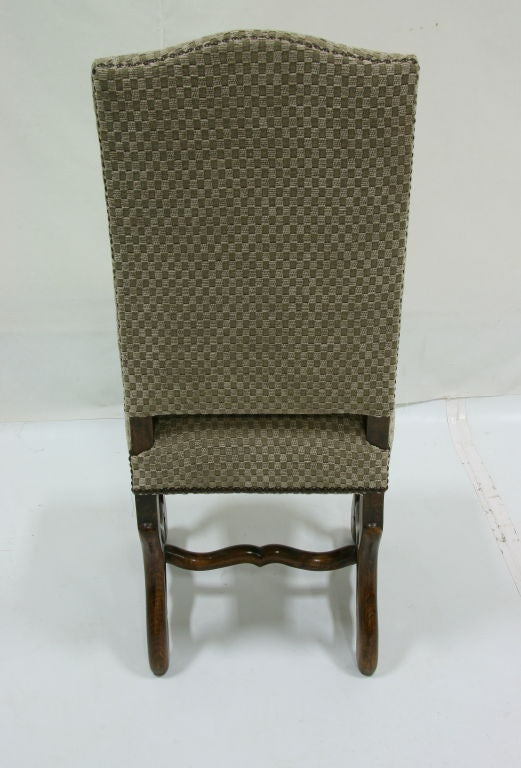 Set Of Six 1920s French Mouton Dining Chairs Stamped Paris St Antoine At 1stdibs