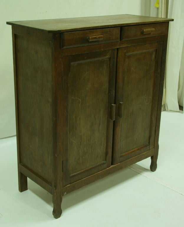 1920 39 s french pine kitchen cabinet at 1stdibs for 1920 kitchen cabinets