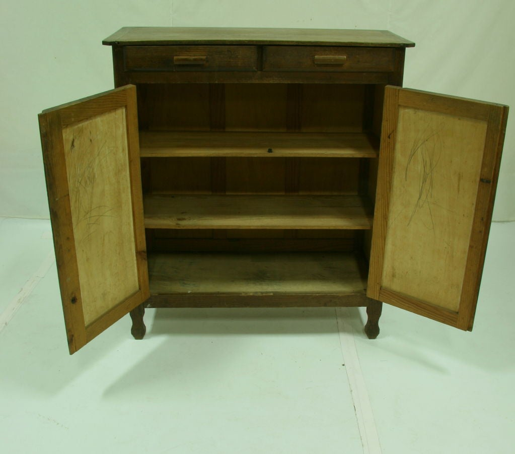 1920 s french pine kitchen cabinet at 1stdibs 1920 kitchen cabinets www galleryhip com the hippest pics