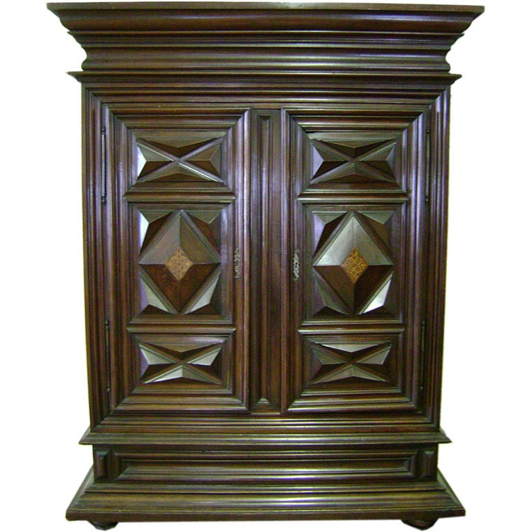 large 18thc louis xiv armoire at 1stdibs. Black Bedroom Furniture Sets. Home Design Ideas
