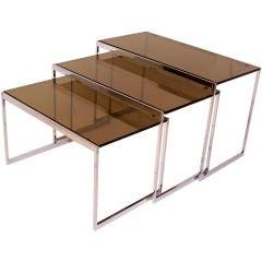 Milo Baughman Nest of Tables