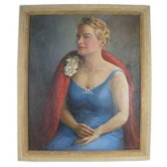 Large Portrait Painting
