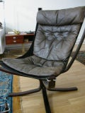 Falcon Chair & Ottoman By Sigurd Resell image 2