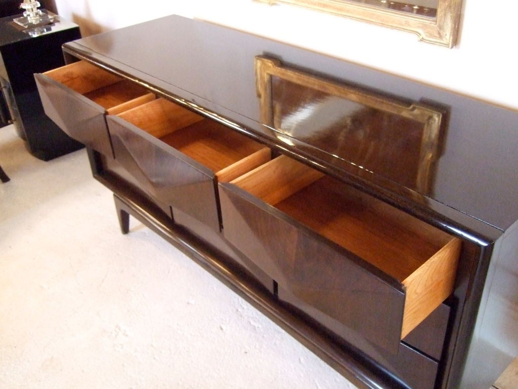 Danish 9 Drawer Chest or Dresser 4