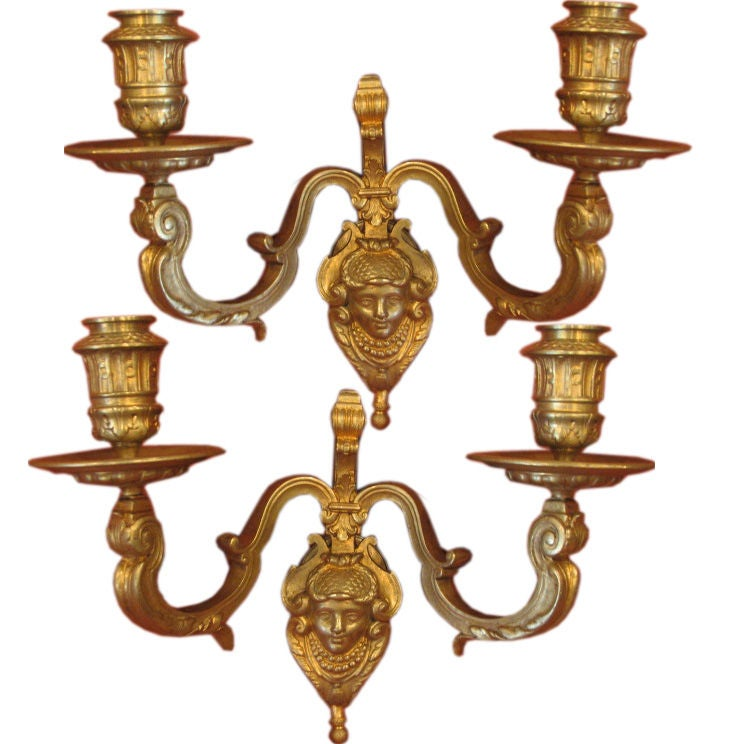 French Louis XIV Style Sconces 1