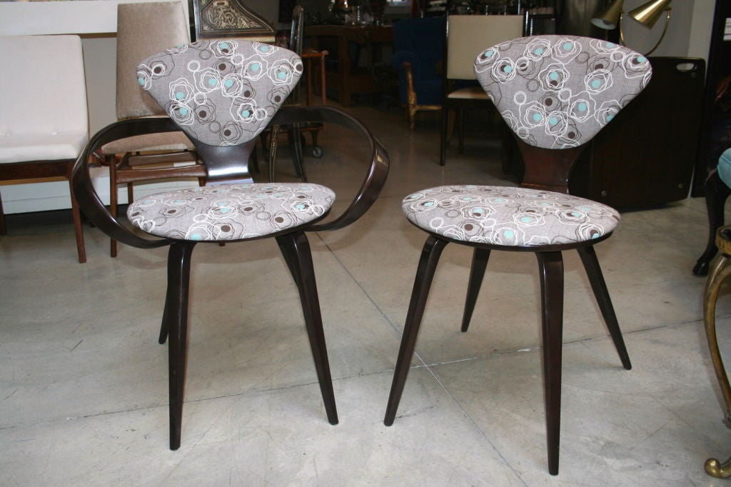 Set of Six Cherner for Plycraft Chairs 2