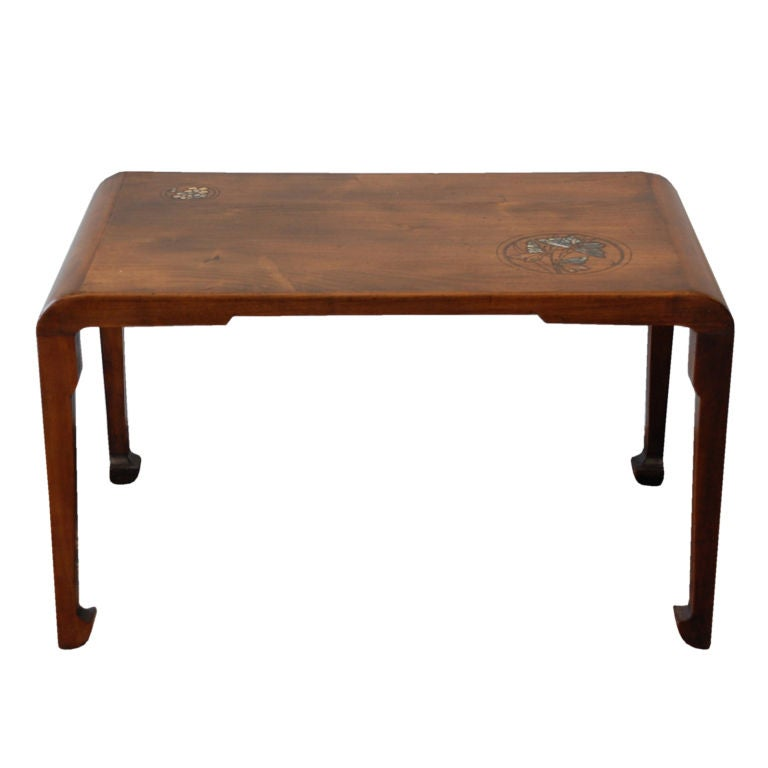 BLEND INTERIORS - Louis Majorelle - Low inlaid side table by