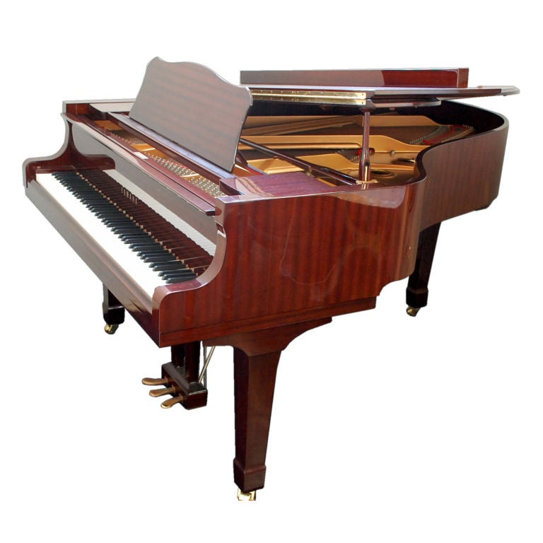 impeccable yamaha c3 concert grand piano at 1stdibs