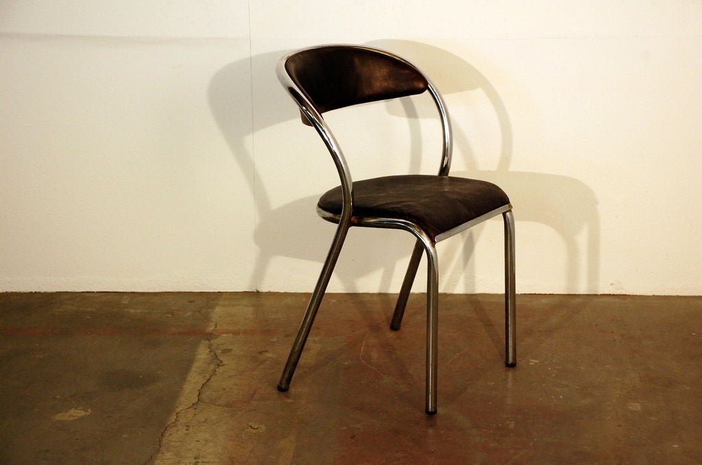 of comfortable french industrial dining chairs is no longer available