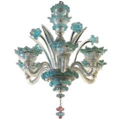 SMALL AND DELICATE MURANO CHANDELIER