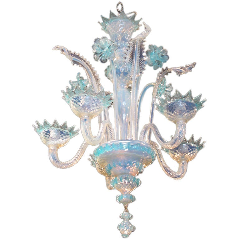 Murano Glass Chandelier White: Picture_3585_1.jpg