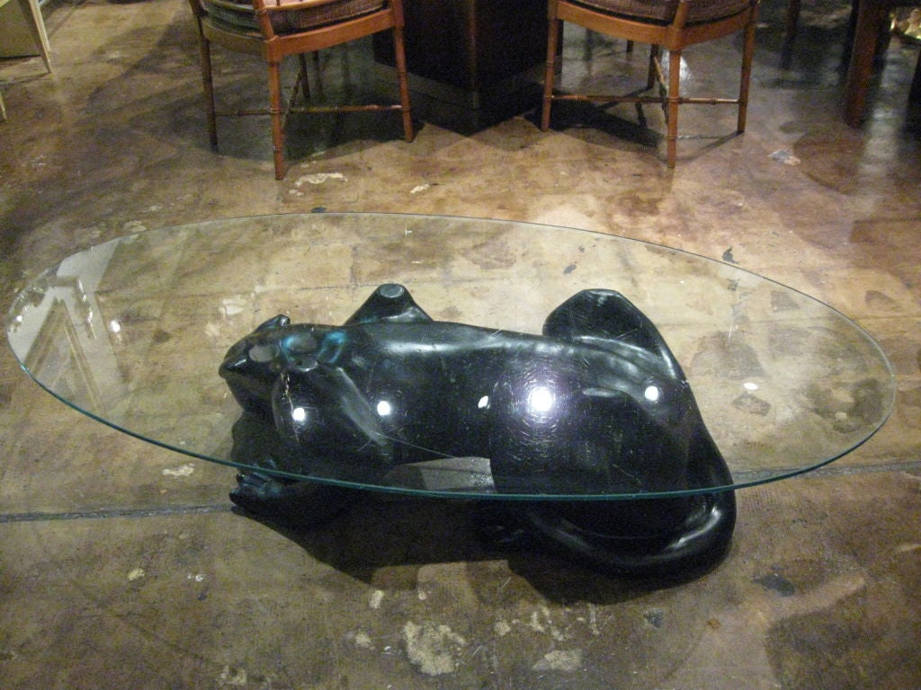 panther composition coffee table at 1stdibs