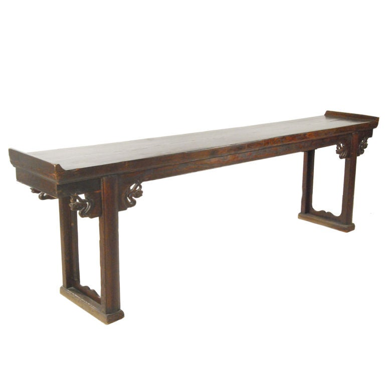 long chinese console table at 1stdibs