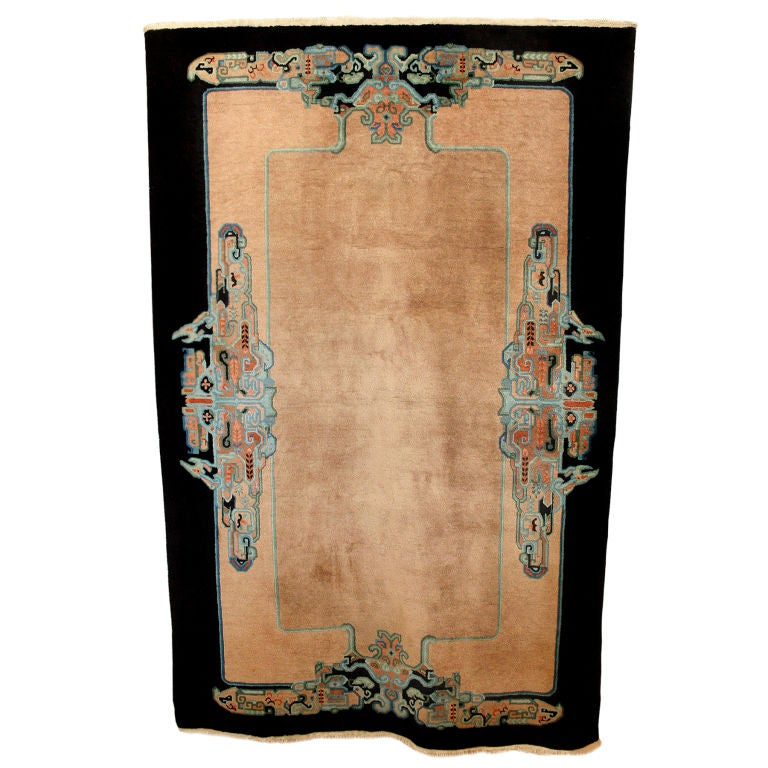 Chinese Art Deco Carpet Rug At 1stdibs