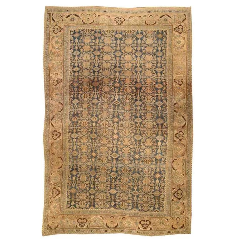 Antique Persian Bidjar Carpet At 1stdibs