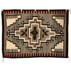 American Navajo Indian Klagetoh Blanket or Rug