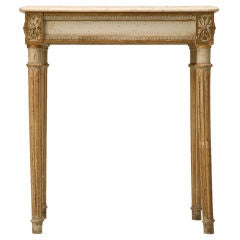 c.1840 All-Original French Louis XVI Console Table