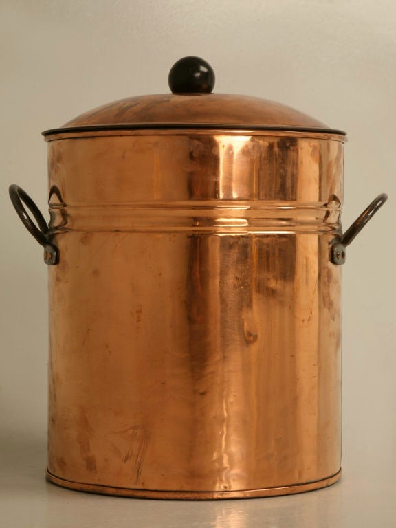 C 1920 English Copper And Brass Beverage Dispenser At 1stdibs