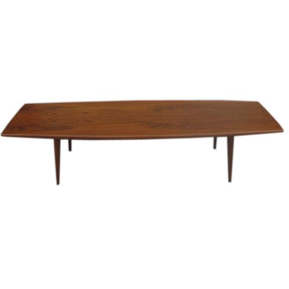 Coffee Table 1950s: 1950s Teak Danish Coffee Table By MM Moreddi At 1stdibs