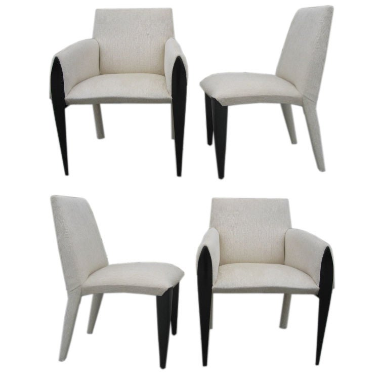 Set of 6 1970s dining chairs by dakota jakson at 1stdibs for 1970 dining room set