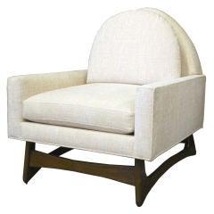 Walnut Club Chair by Adrian Pearsal for Craft Associates