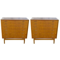Pair of Teak Chests by Kai Kristiansen