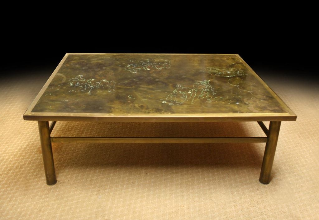 Laverne Coffee Table Mid Century Circa 1950 60 At 1stdibs