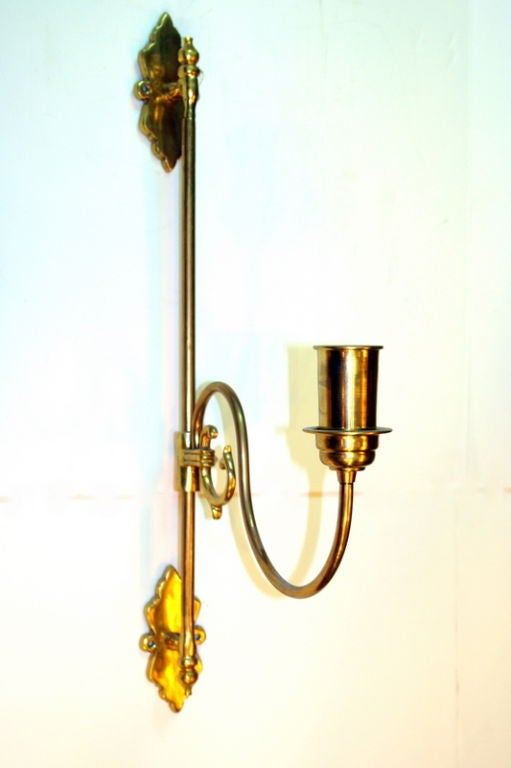 Large Bronze Wall Sconces : Large Bronze Sconces at 1stdibs